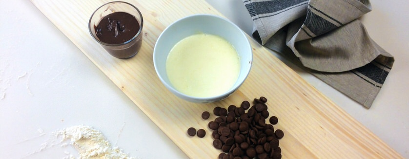 Calzone με σοκολάτα και πραλίνα