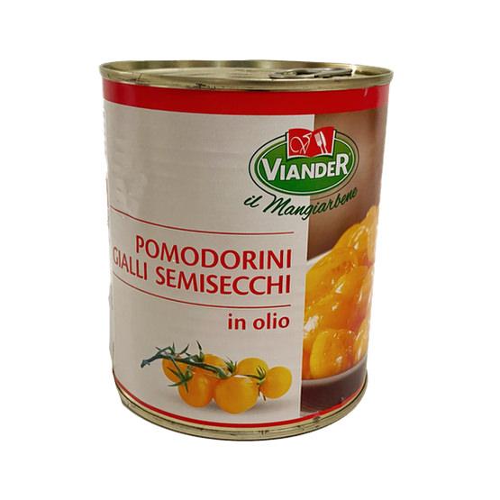 Pomodorini Gialli Semisecchi.